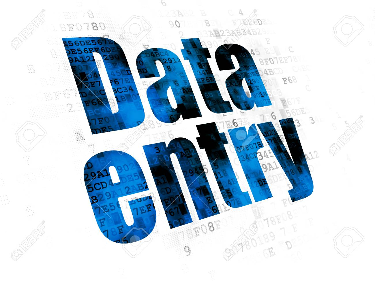Data entry job with affordable rate done within small...