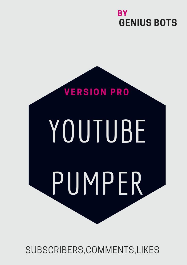 Youtube Pumper Ratings videos bot