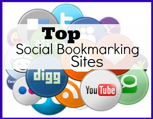 create top 30 social bookmarking sites from PR9 to PR6