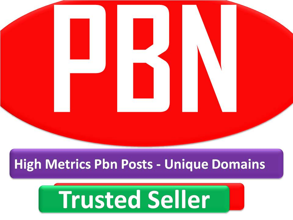 Rank with 105+ High Metrics Pbn Posts - Unique Domains with best quality