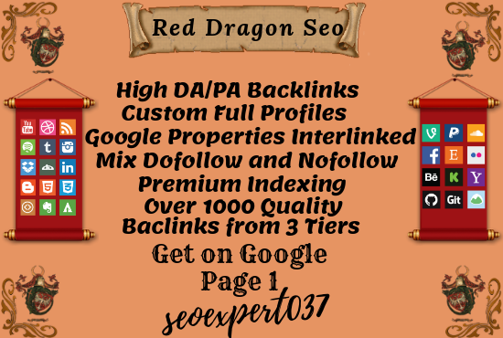 Do SEO Campaign Red Dragon V3 And Crush Google Page 1