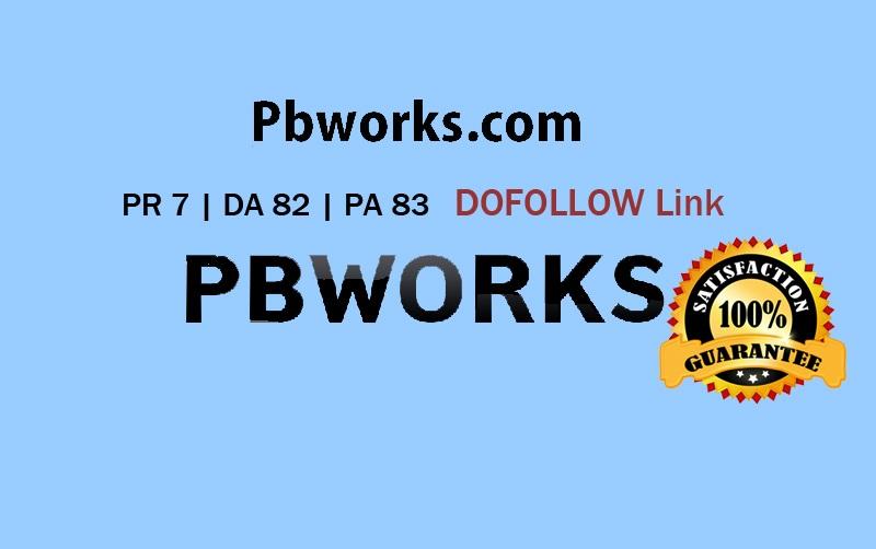 Write & Guest Blog in Pbworks com PR7 DA 82 with DOF backlink