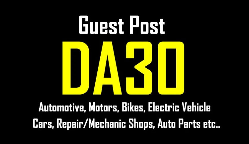 Publish A Guest Post On Automotive And Motors Blog