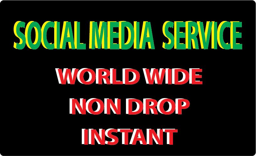 150k non drop social media video promotion instan