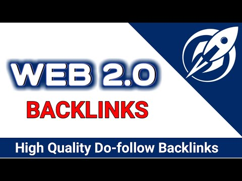 100 Web 2.0 Backlinks PROVEN Ranking Strategy 2019 new Update