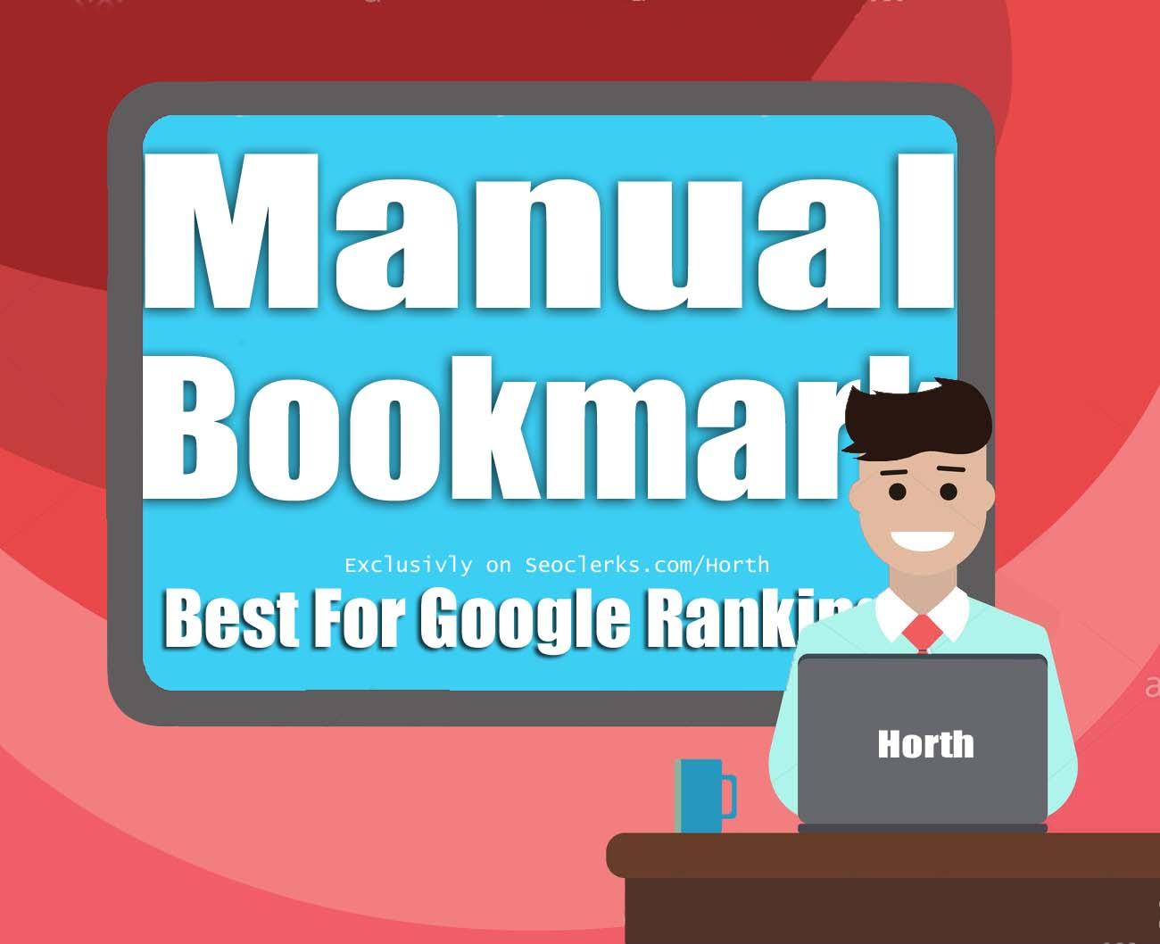 Manual Social Bookmark service 2019 Update Package