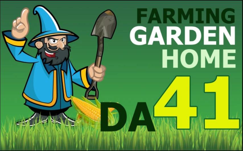 Write and Publish On My DA 41 Garden,  Farming,  Health,  Home Blog