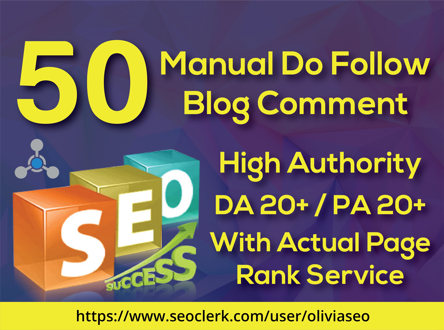 Provide 50 Blog Comment High Da Pa Tf Cf And Low Obl