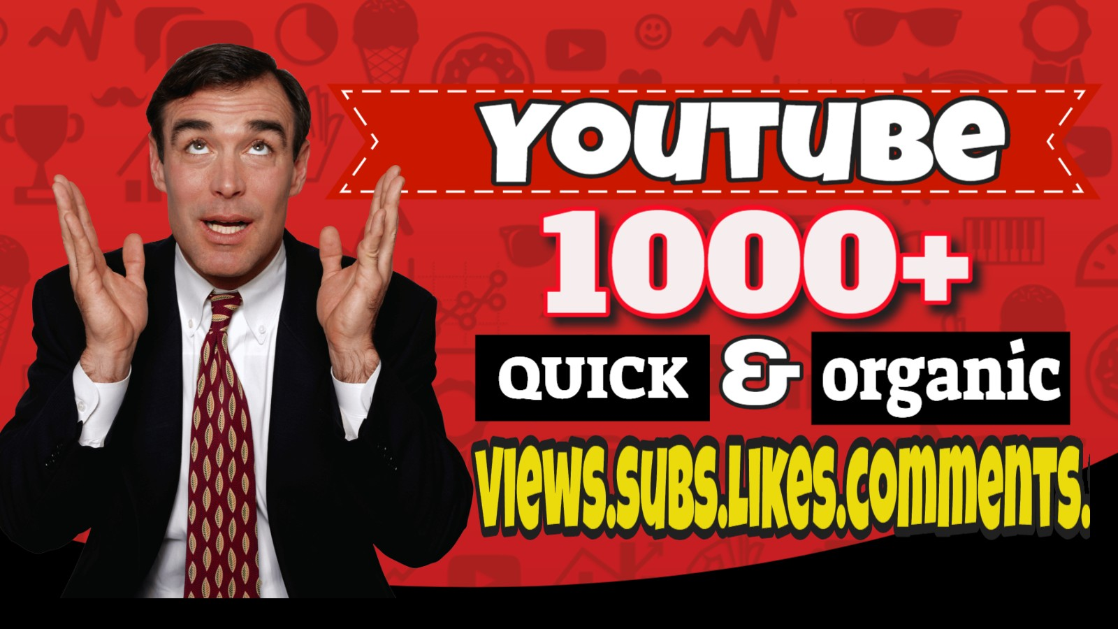 Fast Organic Youtube Video Promotion Bronze Package