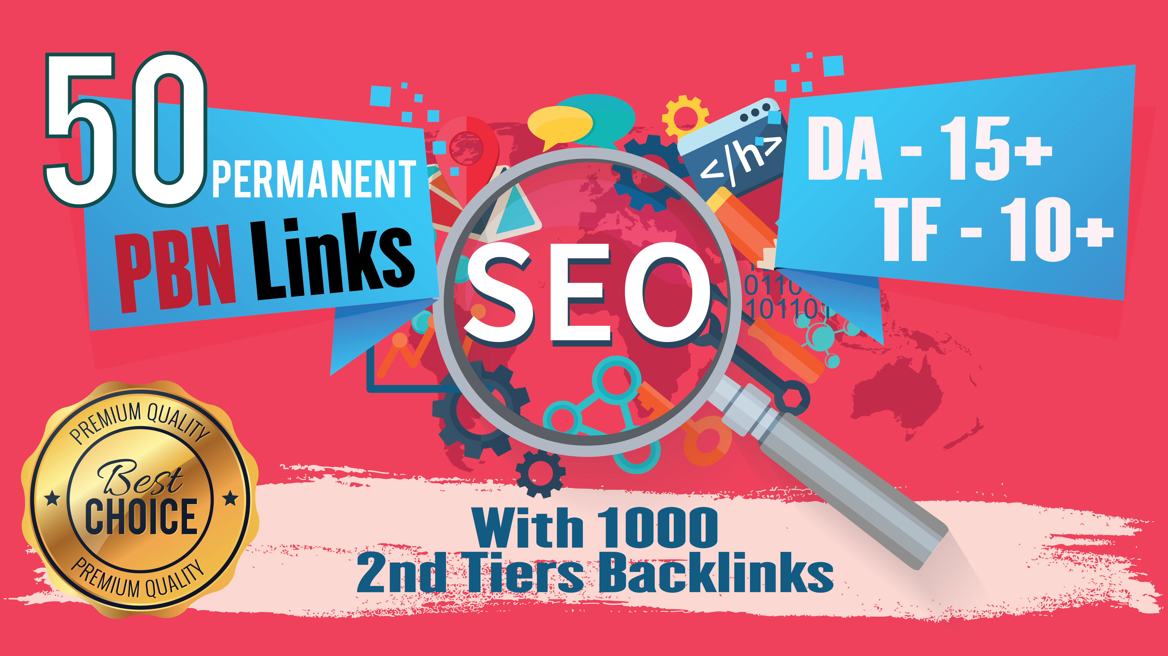 2021 Powerful 50 Homepage Dofollow PBN With 1000 2nd Tiers Backlinks