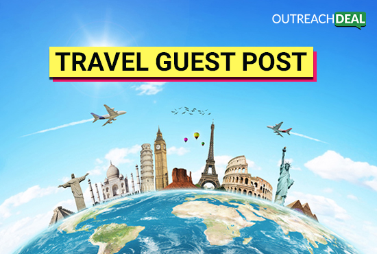 Guest post and Link Building on travel site with 30+ DA