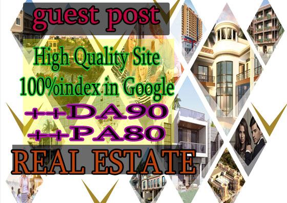 do guest post on DA90 hq Real estate blog