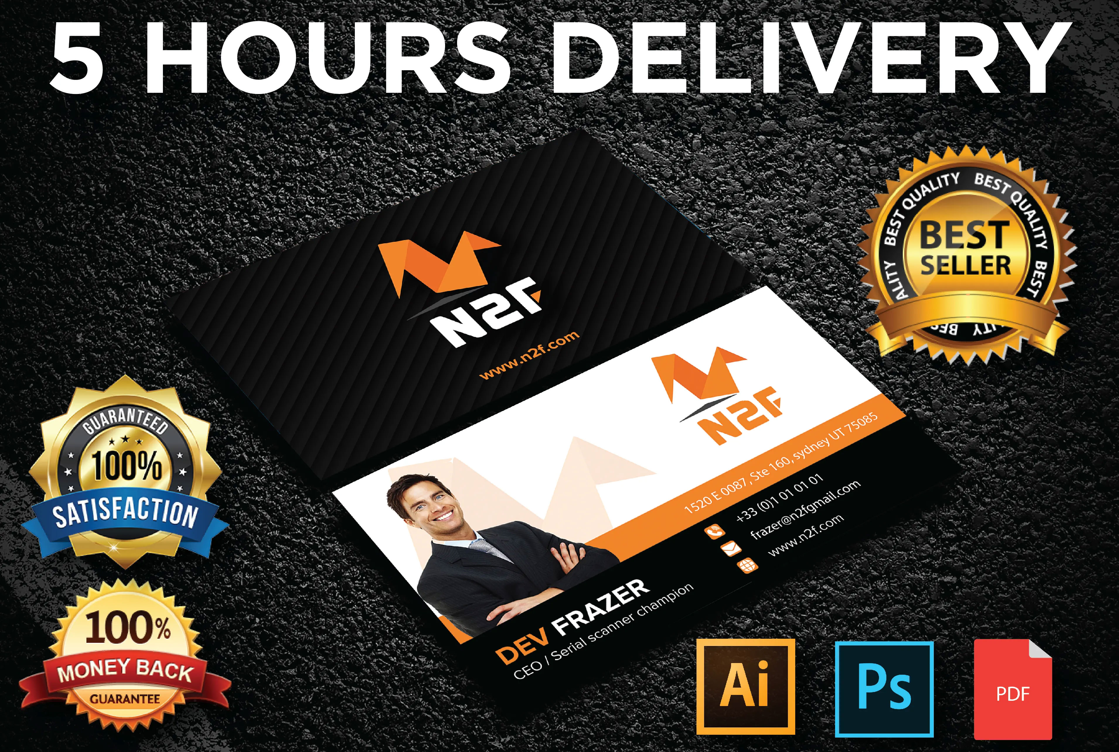 Professional Business Card Design In 12 Hours