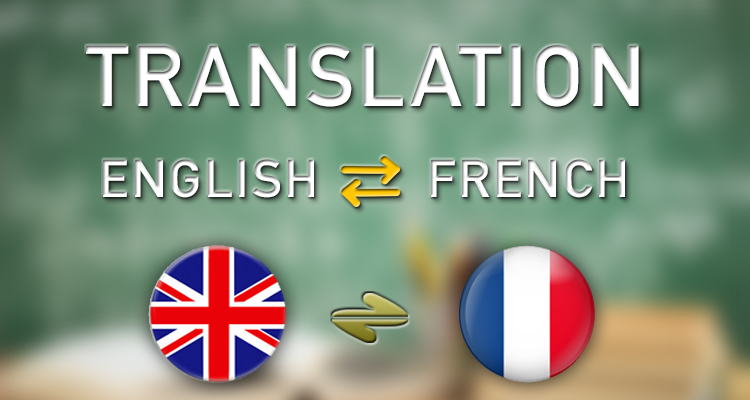 Translate English > French or vice-versa