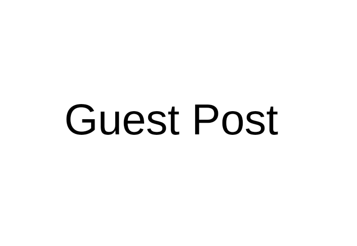 Guest Post Monthly Service