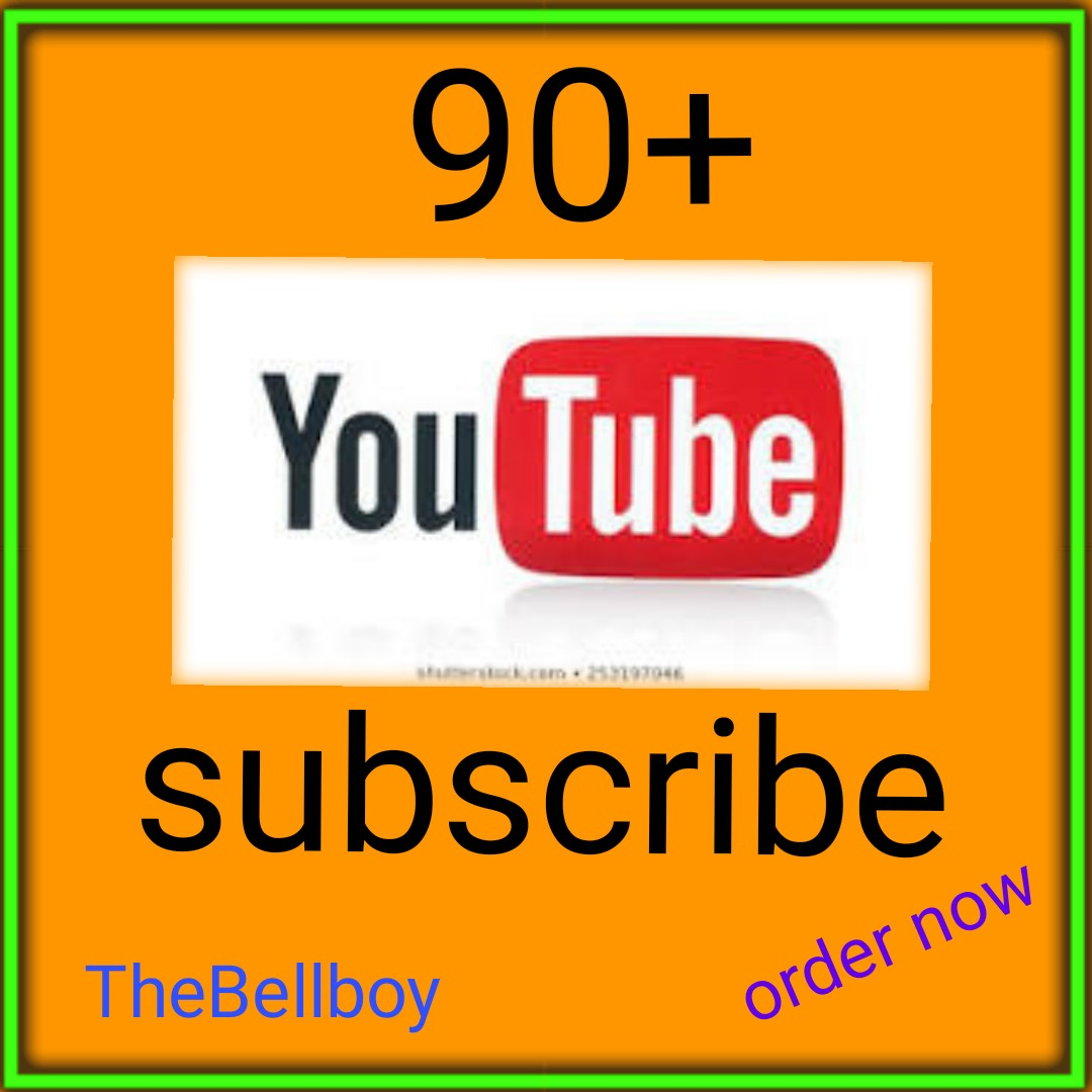 Guaranteed 90+ Channel promotion Fast and non Drop
