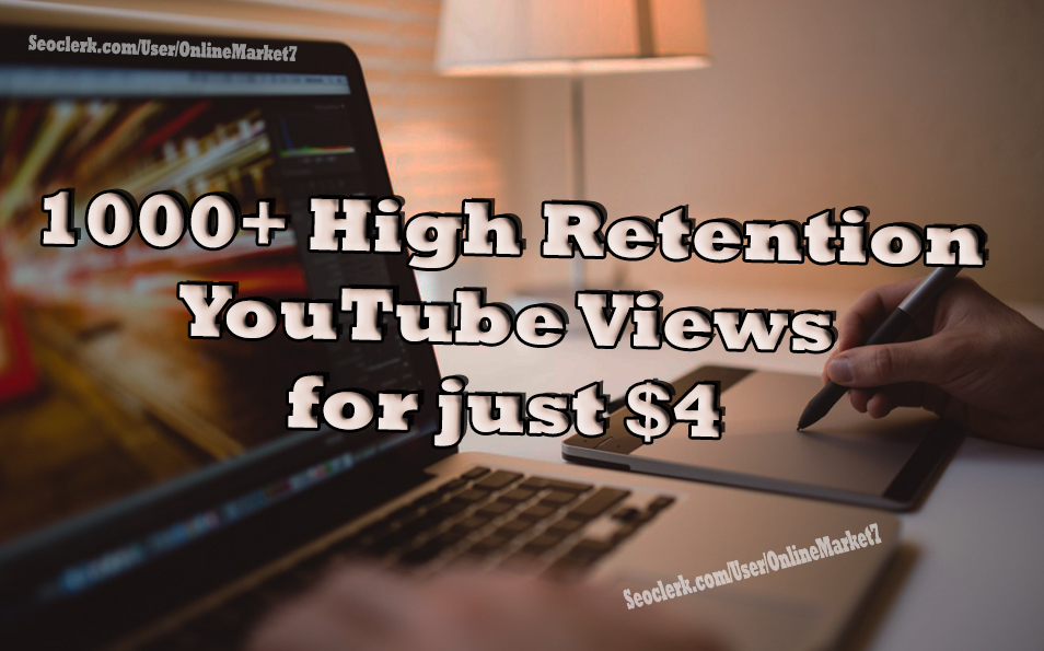 NON-DROP HIGH Retention You Tube Traffic