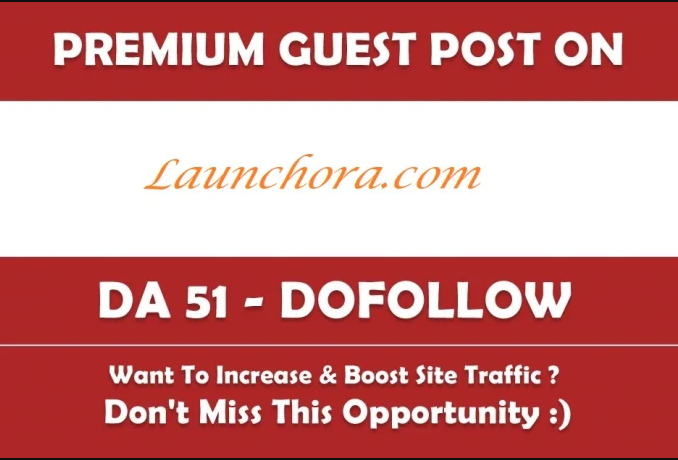 Write And Publish guest post on launchora. com