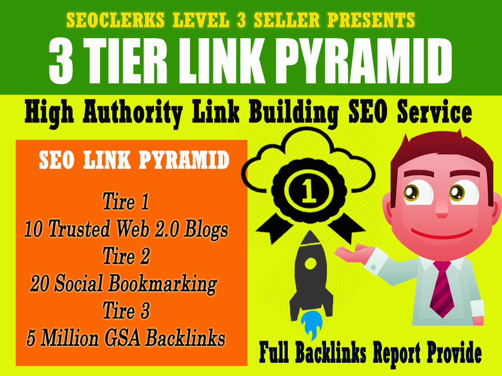 Rank on Google 1st Page with High Quality SEO Link Building Backlinks service