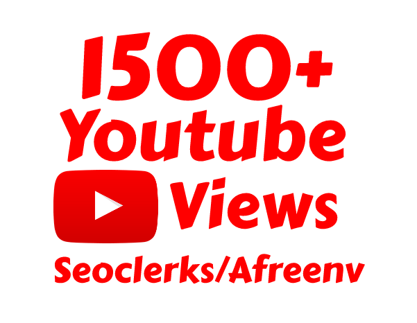 I will add Fast 1500 High Quality Youtube views