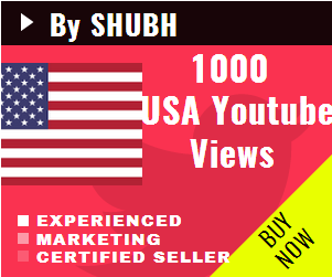 Add 1000 USA Youtube Views