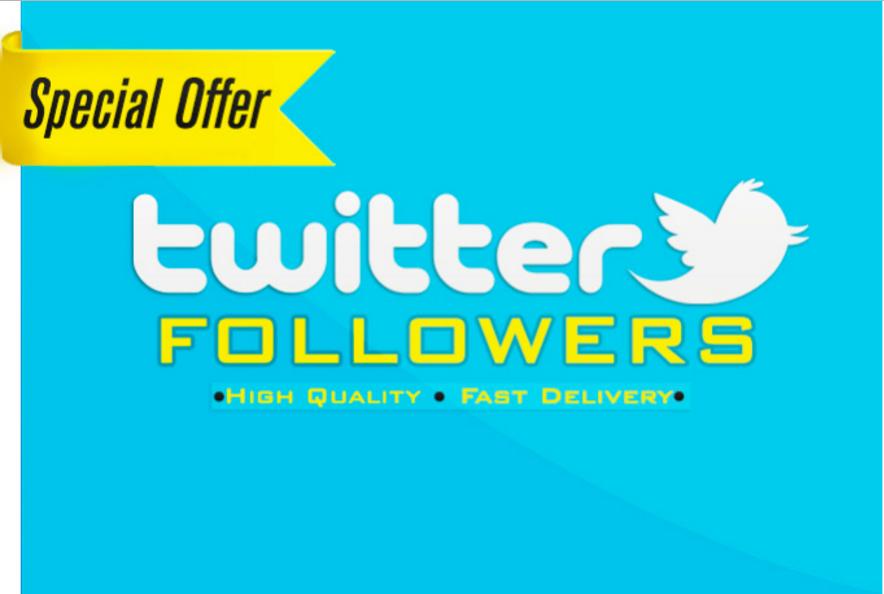 I will add 1100+ High Quality Twitter Followers