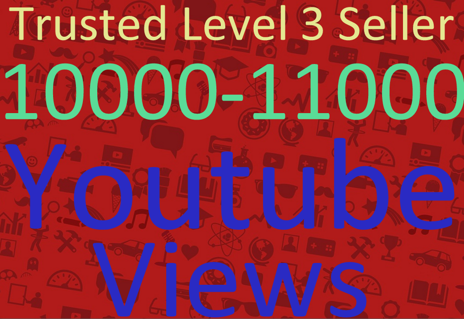 give you guaranteed 10000 safe youtube views to your video