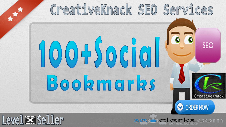 Social Bookmark Boostpack 100+ Social Bookmarks only