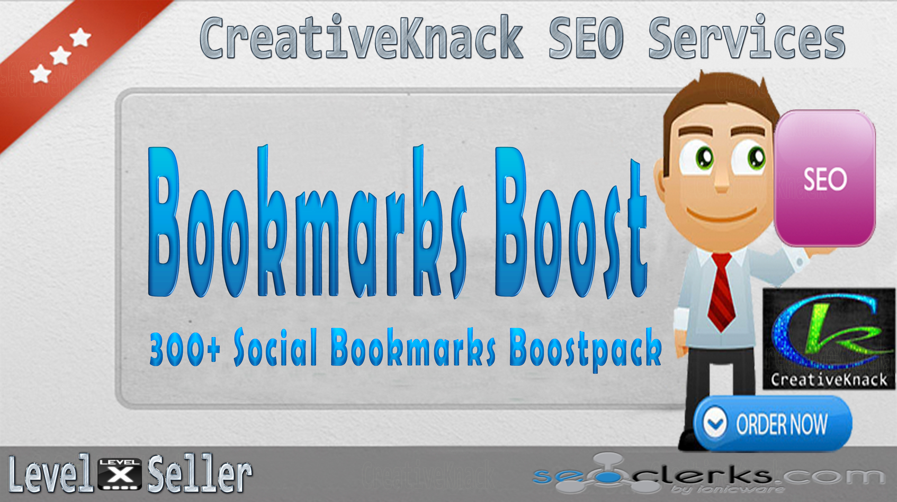 Social Bookmark Boostpack 300+ Social Bookmarks only