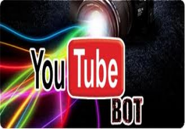 I want Youtube View bot