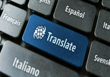 I will translate any text from english into arabic
