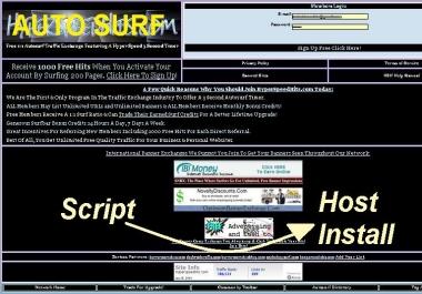 Install my AutoSurf Script on my Apache Hostage