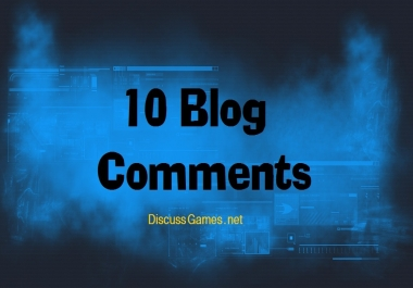 I need 10 Comments on my Gaming Blog
