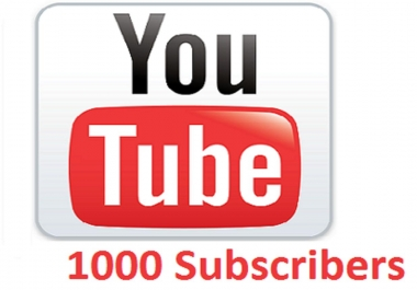 1000 YouTube subscribers,  please