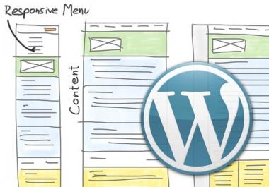 Need WordPress Re designer