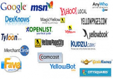 Need someone who can do 280 business listings/local citations on websites provided by me