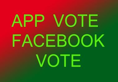 Facebook IP votes 2k
