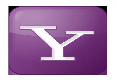 I want to buy Yahoo answers account level 4 +