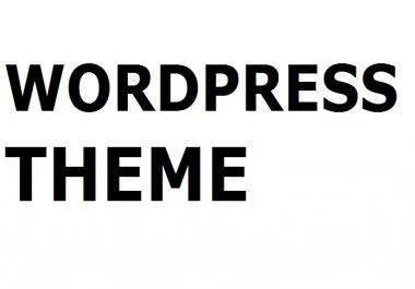 Looking wordpress theme