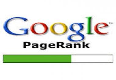 Improve my Google Pagerank.