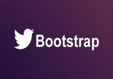 Design Responsive Website template Using Bootstrap 3