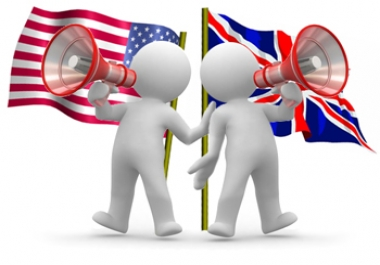Expert for US and UK English for test