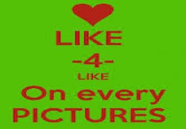 Need Like4like 30,000 Point
