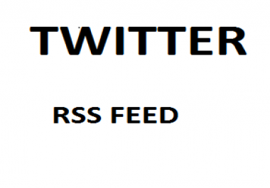 Add My Rss Feed To Your Twitter Account