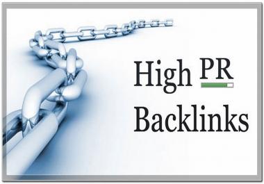 I need 10 Dofollow EDU GOV PR5 to PR6 Backlinks using redirects