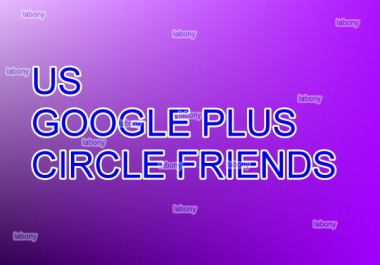 I need 200 USA Google plus circle follower within 24 hours