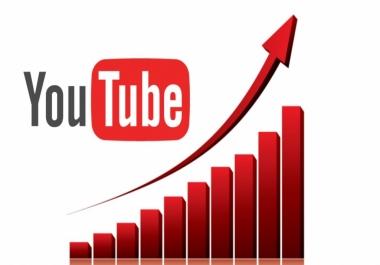 Teach how to get high retantion Youtube Views Adsense Safe