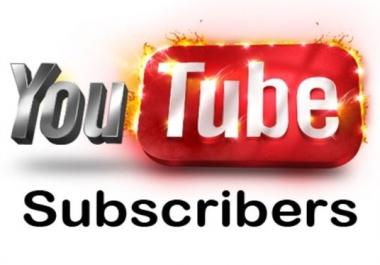 1000 non drop YouTube Subscribers