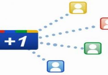 Need 100 Google +1 to website