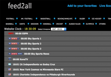 Live Streaming Sports Site